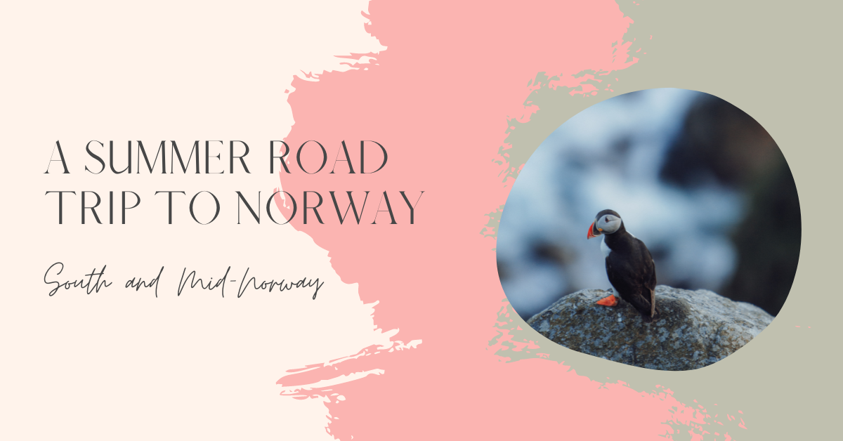 A summer road trip through Norway, visiting the south and mid-Norway areas!